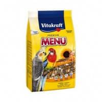 Vitakraft Premium Menu корм для средних попугаев, 3кг