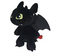 Мягкая игрушка Dragons дракон Беззубик плюшевs 30 см