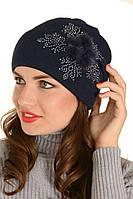 Красивая женская шапка Пальмира