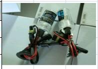 Лампочка КСЕНОН  H1 bulb (6000 К)
