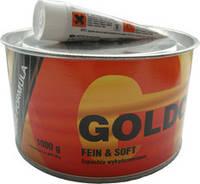 Шпатлёвка финишная мелкозернистая GOLD CAR+ FEIN & SOFT  1 кг.