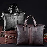 Классическая мужская сумка P.KUONE. Удобная сумка. Высокое качество. Низкая цена. Интернет магазин. Код: КЕ176