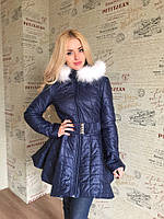 Пальто  стеганное  на синтепоне