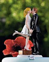 Милые фигурки на торт на свадьбу в романтическом стиле, заказать