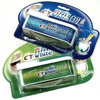 Отбеливающий зубной порошок CT-White, 33 гр. Синий или зеленый