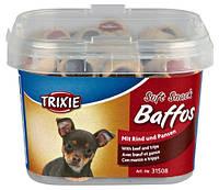 Trixie (Трикси) Soft Snack Baffos Лакомство для собак маленьких пород и щенков говядина желудок 140 г