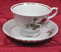 Чайная чашка с блюдцем Ivona 0011