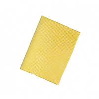 Перфорированная салфетка для снятия влаги с кузова автомобиля 250g желтая