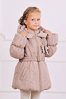 """Куртка-пальто зимняя для девочки ТМ """"Модный карапуз"""""""