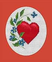 B1060 Валентинка. Набор для вышивания крестом