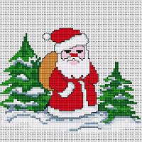 B1068 Дед Мороз. Набор для вышивания крестом