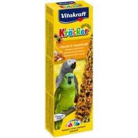 Vitakraft Krаcker крекер для средних и крупных попугаев с медом и тропическими фруктами, 2шт