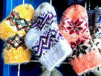 Детские теплые носочки из овечьей шерсти