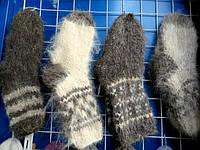 Носки мужские теплые овечья шерсть разные окрасы