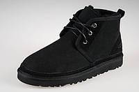 Ботинки UGG boots Neumel Black Оригинал замшевые черные