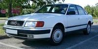 Лобовое стекло на Audi 100 1991-94 г.в.