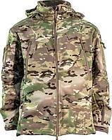 Куртка Soft Shell с флисовой подстежкой Multicam