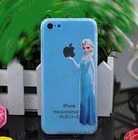 """Пластиковая задняя панель """"Эльза"""" для iPhone 5/5s 6 Защитные панели на айфон Прикольные чехлы на телефон Идеи"""