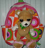 Рюкзак детский с игрушкой