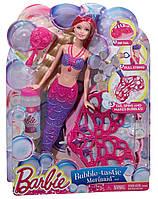 Кукла Барби русалка мыльные пузыри Barbie Bubble-Tastic Mermaid
