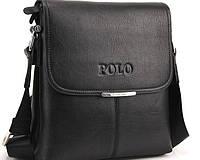 Кожаная сумка Polo + подарок