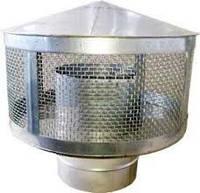 Искрогаситель из нержавеющей стали (0,6 мм.) для дымоходов
