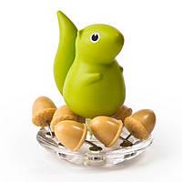 Держатель канцелярских кнопок Squirrel&Acorn Qualy Зелёный