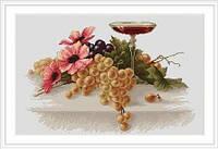В214 Набор для вышивания крестом Цветы и виноград