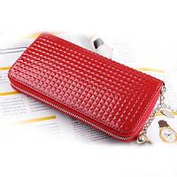 Клатч-кошелёк женский Colorful красный