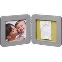 Baby Art Frame Print (слепок в рамке), Grey