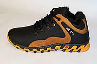 Подростковые ботинки кожа мех оптом