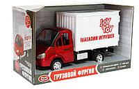 """Инерционная машинка Joy Toy Газель """"Магазин игрушек"""", 9077-F"""