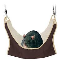 Trixie (Трикси) Hammock Утеплённый гамак для крыс подвесной 30 × 30 см