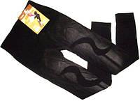 Лосины джинс бесшовные с плотным начесом XL-5XL