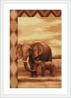 В2226 Набор для вышивания крестом Слоны