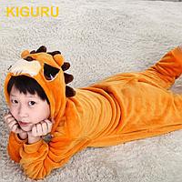 Пижама лев фланель для мальчиков и девочек карнавальный костюм