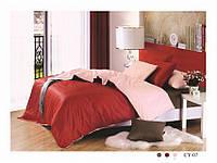 Семейное постельное белье  Arya сатин Dyed Color   Cy-07