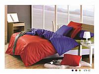 Семейное постельное белье  Arya сатин Dyed Color Cy-12