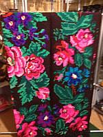 Килим шерстянний з квітами ручної роботи 280*170 см