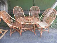 """Плетенный набор плетенный из лозы """"Столовый"""" для дома, кафе,ресторанов."""