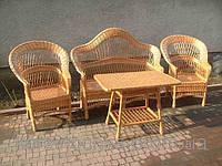 """Набор мебели """"Элитный """"плетенный из натуральной лозы"""