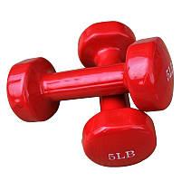 Гантели для фитнеса 5 Lb