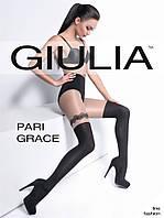 Колготки с имитацией чулок и эффектом волнистой подвязкиТM Giulia