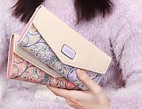 Женский стильный красивый цветной кошелек. Тренд 2015! По низкой цене. Интернет магазин. Код: КСМ248