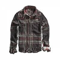 Рубашка Brandit Raven Wire Choco-Red
