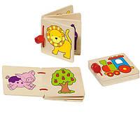 Книжка-игрушка с яркими картинками GOKI