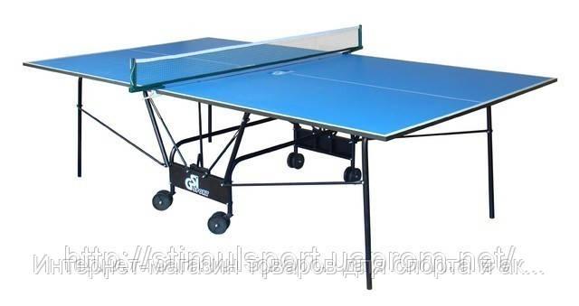 Теннисный стол GK— 4 (компакт) + 2 ракетки и шарики