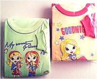 Детская пижама утепленная для девочки ANIA хлопок флис