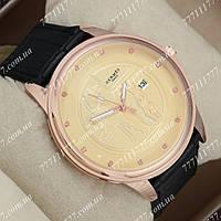 Часы мужские наручные Hermes 378 Black/Purple/Gold