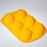 """Силиконовая форма для выпечки """"Лист на 6 яиц"""" (Empire Эмпаир Емпаєр) EM-0055"""